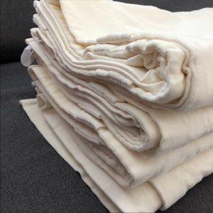 Bundle of 3 panels WE curtains cotton velvet